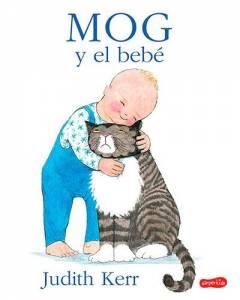 Hoy leeemos: Mog y el bebé.