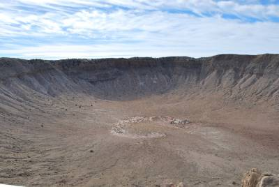 Visita al Barringer Meteor Crater, en Arizona