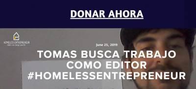 Entrevista a Tomás Casas para #HomelessEntrepreneur