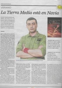 Entrevista Al Autor Eduardo Aguiar En El Atlántico Diario