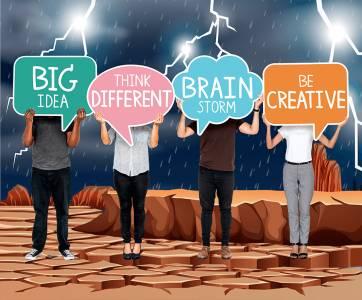 Tipos de brainstorming: consigue una lluvia de ideas creativa