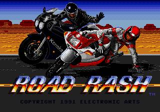 Road Rash Megadrive