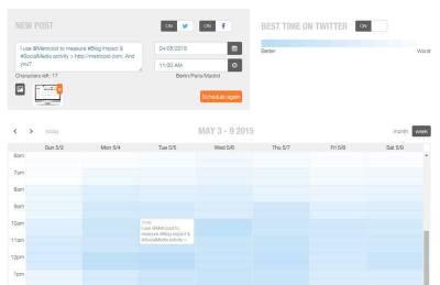 Vacaciones ? Como Programar tus #RedesSociales con #Metricool via #SEOHashtag