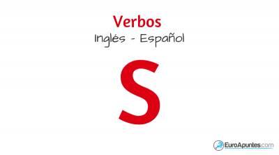 Inglés verbos S