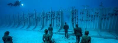 Museo Atlántico de Lanzarote, buceo entre esculturas