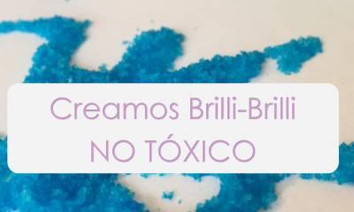 Purpurina Casera No tóxica y biodegradable | Mamá y 1000 cosas más