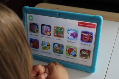 Una tablet para niños con control parental