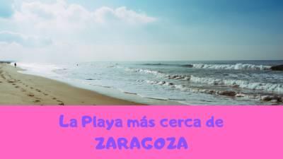 Zaragoza tiene playa (cerca claro. . . )