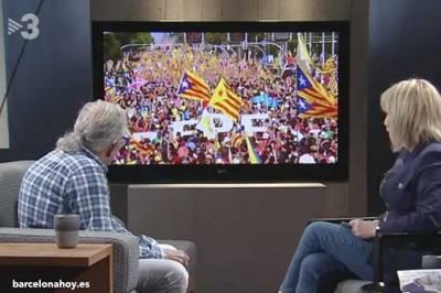 TV3 inicia su programación con cuatro líderes independentistas