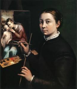 Sofonisba Anguissola, una pintora en la corte de Felipe II