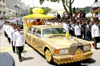 el sultán de Brunei anula su visita a Barcelona