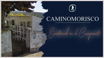 Caminomorisco. Ensotanado en el Camposanto