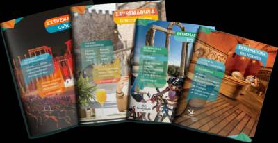 Guías y planos turísticos de Extremadura