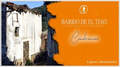 Barrio de El Teso (Cambroncino)