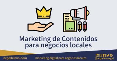 El marketing de contenidos es ideal para negocios locales