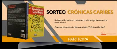 Regalamos unlibro de 'Crónicas Caribes'
