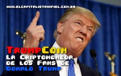 TrumpCoin - La criptomoneda de los fans de Donald Trump