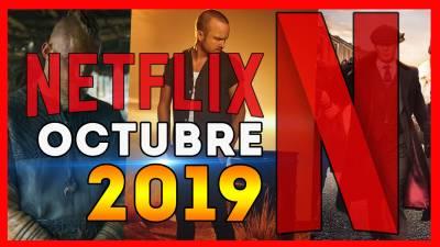 Estrenos Netflix OCTUBRE 2019   Ingresos de Películas y Series!