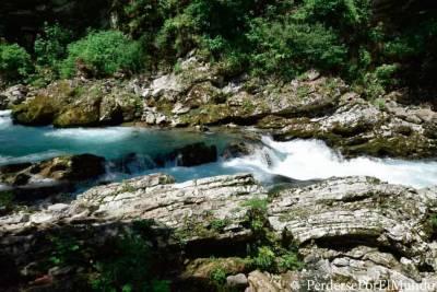 Visitar Vintgar Gorge: Paseando entre cascadas de aguas turquesas