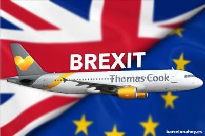 El Brexit se lleva por delante a Thomas Cook