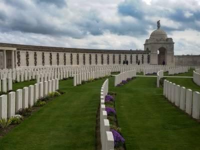 Ruta en bicicleta por el saliente de Ypres, Recuerdo de la Primera Guerra Mundial