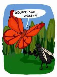 Autumnus el Príncipe del Otoño y las Hormigas Voladoras