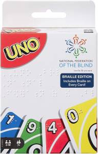 Mattel saca The UNO Braille Edition, para jugadores invidentes