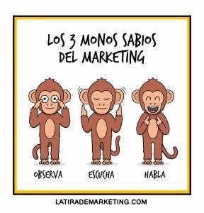Los tres monos sabios, Sócrates y las claves del marketing de contenidos