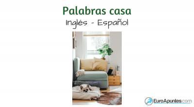 Inglés español palabras casa |