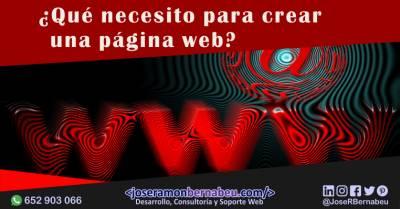 ¿Qué necesito para crear una página web que llame la atención?