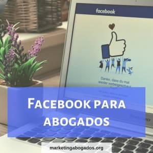 Facebook para abogados - Marketing jurídico