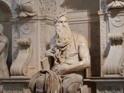 Roma - El Moisés de Miguel Ángel en San Pietro in Vincoli