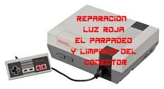 ▷ TUTORIAL Cómo Reparar la Nintendo NES: desbloqueo de región, limpieza y solución al parpadeo luz roja