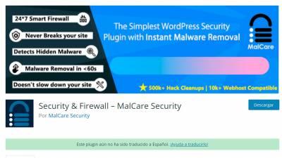 MalCare Security - Di adios al malware en WordPress