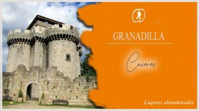 Granadilla. El pueblo abandonado de Cáceres