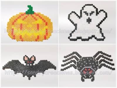 Patrones de Halloween para Beads