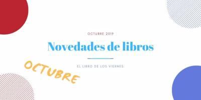 Novedades de libros de octubre