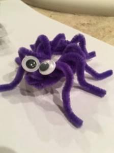 Los 3 padawan y Mama : Juegos caseros: Arañas peludas