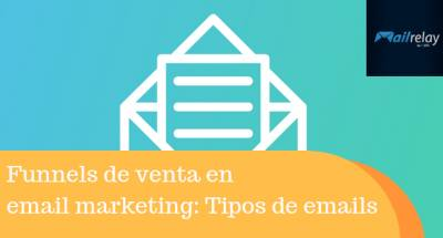 Funnels de venta en email marketing: Tipos de emails y ejemplos