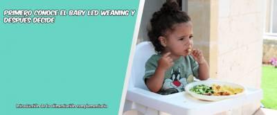 Primero Conoce El Baby Led Weaning Y Después Decide