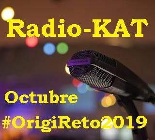La Pluma Azul de KATTY: Radio-KAT octubre (Mini-Podcast) #OrigiReto2019