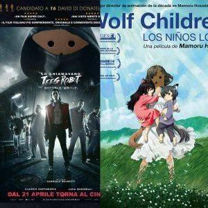 Dos películas a descubrir, Wolf Children y Le llamaban Jeeg Robot