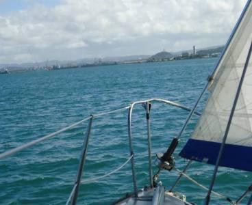 Navegando por La Bahía de San Juan, Puerto Rico