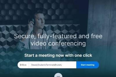 Videoconferencias online gratuitas y seguras con 8×8 Meetings