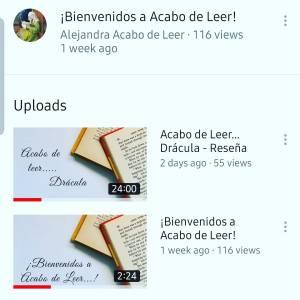¡Doy el salto a YouTube! Y con una reseña de un clásico gótico: Drácula