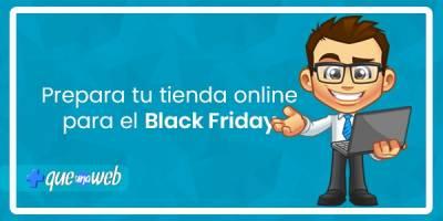 Prepara tu tienda online para el Black Friday
