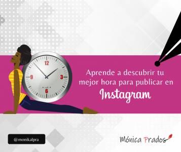 Descubre cuál es la mejor hora para publicar en Instagram