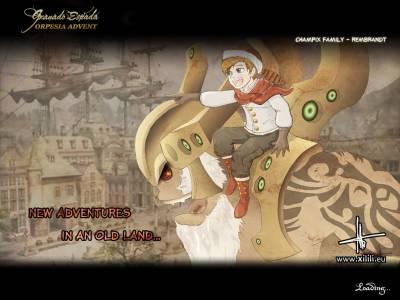 Ilustración para el videojuego: Granado Espada
