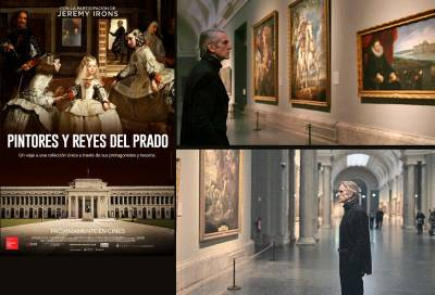 Pintores y reyes del Prado: Jeremy Irons y el arte en el cine