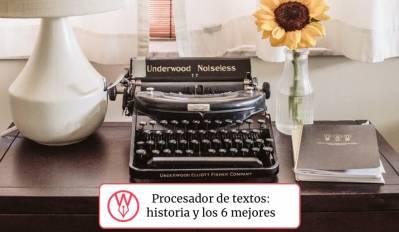 ▷ Procesador de textos: qué es, historia y los 6 mejores que existen – Scrivener en español